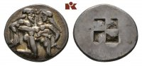 AR-Stater, 550/463 v. Chr.; THRACIA THASOS. Attraktives, sehr schönes E... 1285,00 EUR kostenloser Versand
