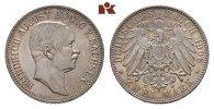 2 Mark 1906. Sachsen Friedrich August III....