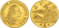 Friedrichs d'or 1776 A, Berlin. BRANDENBUR...