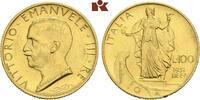 100 Lire 1931/X R, Rom. ITALIEN Victor Emanuel III., 1900-1946. Min. Ra... 745,00 EUR  +  9,90 EUR shipping