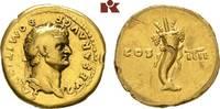 AV-Aureus, 76/77, Rom; MÜNZEN DER RÖMISCHEN KAISERZEIT Vespasianus, 69-... 2485,00 EUR kostenloser Versand