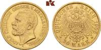 20 Mark 1905. Mecklenburg-Strelitz Adolf Friedrich V., 1904-1914. Fast ... 17495,00 EUR free shipping