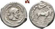 AR-Tetradrachme, nach 480 v. Chr.; SICILIA SYRAKUS. Feine Patina, gutes... 1585,00 EUR  +  9,90 EUR shipping