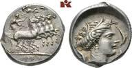 AR-Tetradrachme, 350/300 v. Chr., Rasch Me SICILIA PUNIER. Attraktives,... 3795,00 EUR free shipping