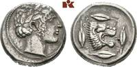 AR-Tetradrachme, 450/430 v. Chr.; SICILIA LEONTINOI. Sehr schön  1585,00 EUR  +  9,90 EUR shipping