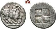 AR-Trihemiobol, 510/480 v. Chr.; MACEDONIA AIGAI. Sehr schön  245,00 EUR  +  9,90 EUR shipping