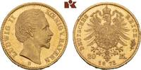 20 Mark 1873. Bayern Ludwig II., 1864-1886...