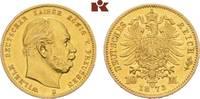 10 Mark 1873 B. Preussen Wilhelm I., 1861-...
