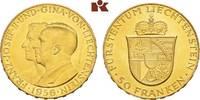 50 Franken 1956, Bern. LIECHTENSTEIN Franz...
