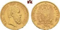 20 Mark 1873. Württemberg Karl, 1864-1891....
