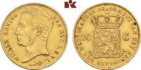 10 Gulden 1840. NIEDERLANDE Wilhelm I., 18...