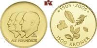 1.500 Kronen 2003, Kongsberg. NORWEGEN Harald V. seit 1991. Polierte Pl... 715,00 EUR  +  9,90 EUR shipping
