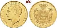 10.000 Reis 1879, Lissabon. PORTUGAL Ludwig I., 1861-1889. Fast vorzügl... 945,00 EUR  +  9,90 EUR shipping