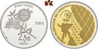 2 1/2 Euro 2012. PORTUGAL 2. Republik seit 1974. Polierte Platte  175,00 EUR  +  9,90 EUR shipping