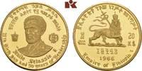 20 Dollars 1966. ÄTHIOPIEN Haile Selassie,...