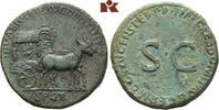 Æ-Sesterz, 90/91, Rom; MÜNZEN DER RÖMISCHEN KAISERZEIT Domitianus, 81-9... 2245,00 EUR  +  9,90 EUR shipping