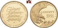5 Dollars 1991 W, Wes VEREINIGTE STAATEN V...