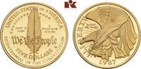 5 Dollars 1987 W, Wes VEREINIGTE STAATEN V...