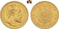 20 Mark 1875. Anhalt Friedrich I., 1871-19...