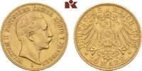 10 Mark 1895 A. Preussen Wilhelm II., 1888-1918. Sehr schön  995,00 EUR  +  9,90 EUR shipping