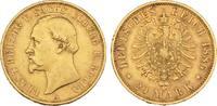 20 Mark 1886. Sachsen-Coburg-Gotha Ernst II., 1844-1893. Sehr schön +  3675,00 EUR free shipping