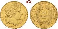 20 Francs 1851, A, Pa FRANKREICH 2. Republ...