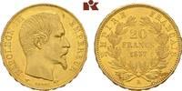 20 Francs 1857 A, Par FRANKREICH Napoléon ...
