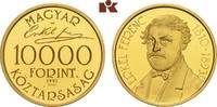 10.000 Forint 1993. UNGARN 2. Republik sei...
