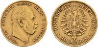 10 Mark 1874 C. Preussen Wilhelm I., 1861-...