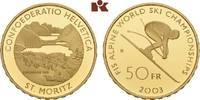 50 Franken 2003 B, Ber SCHWEIZ  Polierte P...