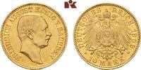 10 Mark 1909. Sachsen Friedrich August III., 1904-1918. Vorzüglich  595,00 EUR  +  9,90 EUR shipping