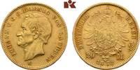 20 Mark 1872. Sachsen Johann, 1854-1873. Fast vorzüglich  445,00 EUR  +  9,90 EUR shipping