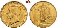 100 Lire 1931/X R, Rom. ITALIEN Victor Ema...