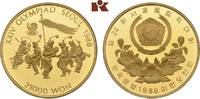 25.000 Won 1986. KOREA Republik. Polierte ...