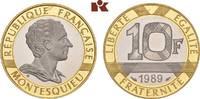 10 Francs 1989. FRANKREICH 5. Republik seit 1958. Prachtexemplar von po... 445,00 EUR  +  9,90 EUR shipping