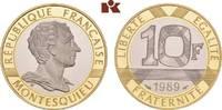 10 Francs 1989. FRANKREICH 5. Republik seit 1958. Polierte Platte  465,00 EUR  +  9,90 EUR shipping