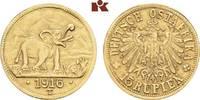15 Rupien 1916 T, Tabora. Deutsch-Ostafrika  Sehr schön-vorzüglich  4195,00 EUR free shipping