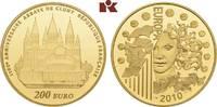 200 Euro 2010. FRANKREICH 5. Republik seit 1958. Polierte Platte  1345,00 EUR  +  9,90 EUR shipping