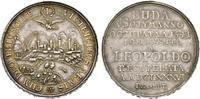 Silbermedaille 1686, RÖMISCH-DEUTSCHES REICH Leopold I., 1657-1705. Vorzüglich