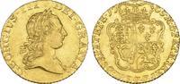 1/2 Guinea 1765, London. GROSSBRITANNIEN / IRLAND George III, 1760-1820. Vorzüglich