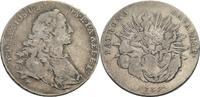 Bayern, Kurfürstentum 1/2 Konventionstaler Maximilian III. Joseph, 1745-1777