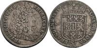 2/3 Taler, Berlin 1691 Brandenburg-Preußen...
