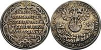 Silbermedaille 1653 Regensburg, Stadt  ss,...