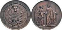 Bronzemedaille 1861 Belgien Antwerpen vz/s...