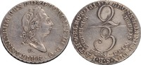 2/3 Taler, Clausthal 1814 Brandenburg-Cale...