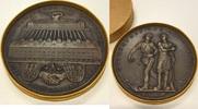 Bronzegussmedaille 1925 München  vz+