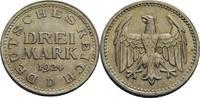 3 Reichsmark, München 1924 Weimarer Republ...