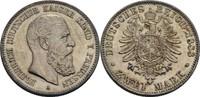 2 Mark 1888 Preußen Friedrich III., 1888 f...