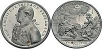 Zinn-Medaille mit Kupferstift 1790 Habsbur...