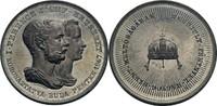 Zinn-Medaille 1867 Habsburg Franz Joseph I...